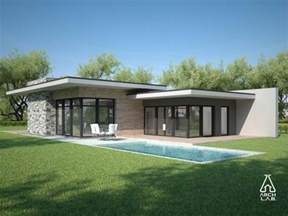 one story flat roof modern home design trend home design modern luxury single story house plans