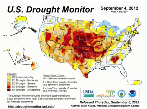 maryland drought map u s drought monitor woodall s cground management