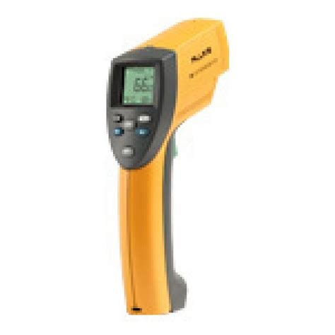 Thermometer Fluke raytek fluke model 66 infrared thermometers
