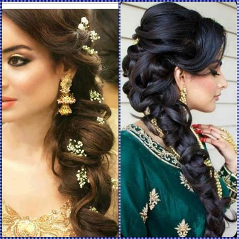 Indian Hairstyles by Indian Wedding Hairstyles For Mid To Hair