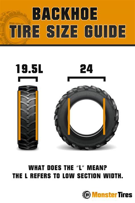 backhoe tires backhoe tires  tire size guide