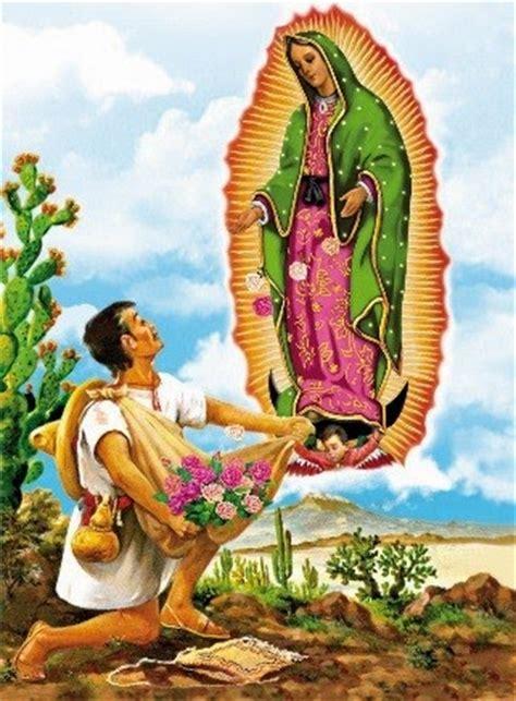 imagenes de la virgen maria con juan diego tradiciones y costumbres