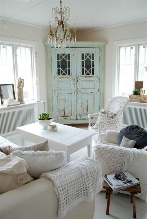 25 charming shabby chic living room decoration ideas for creative juice