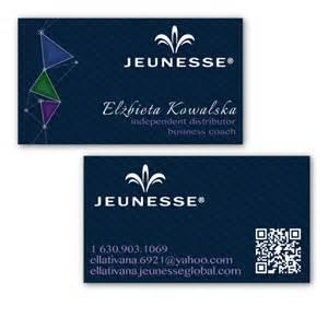 jeunesse global business cards business cards jeunesse global on behance