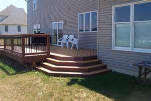wood decks wrap around wood decks