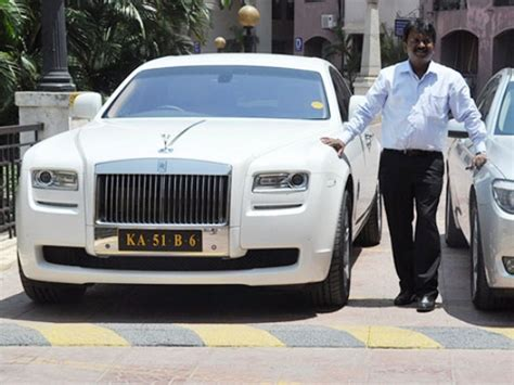 roll royce karnataka india s richest barber and his passion for rolls royce