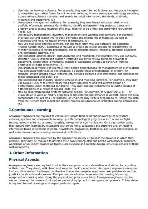 Aircraft Doc Engineer Resume Structural by Doc Engineer Resume Spacecraft Structural Report122