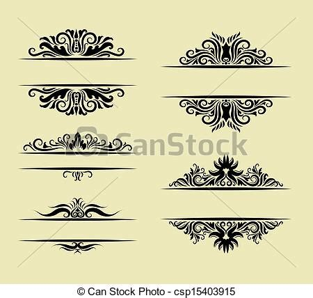 ornament decorations nice  smooth vector floral decorative ornaments good