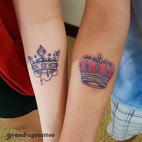 matching crown tattoos and ideas tatting and tattoos