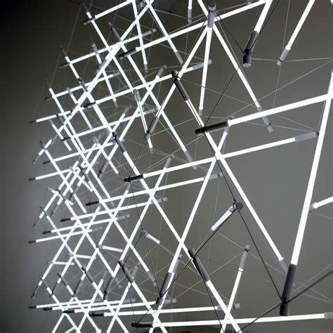 design space frame tensegrity space frame lights by michal maciej bartosik