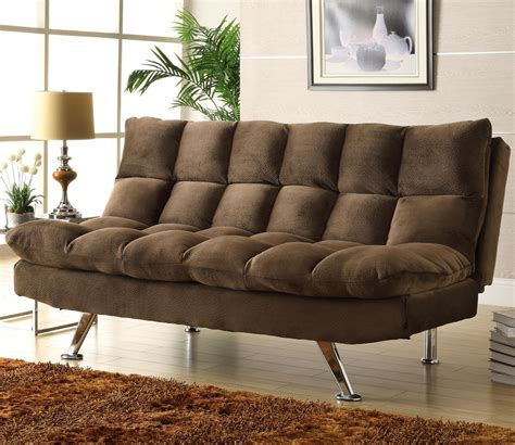 homelegance jazz 4809ch chocolate microfiber lounger with