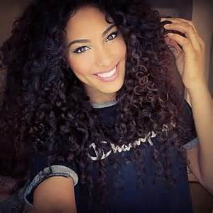 black hair tight curls long tight curls curly hair dos pinterest beautiful