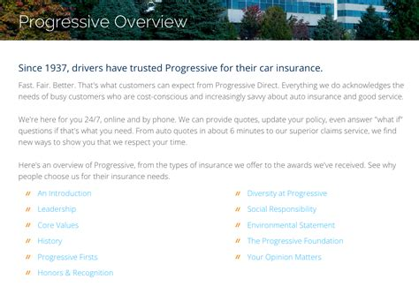 when was progressive insurance founded budget car
