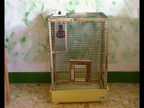 come costruire una gabbia gabbia riscaldata