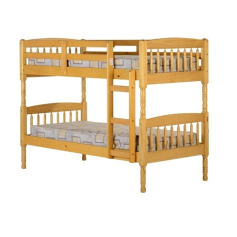 Bunk Beds For Cheap Prices Seconique Albany 3 Bunk Bed Antique Pine Review Compare Prices Buy
