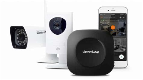 cleverloop smart home security system surveillance cameras