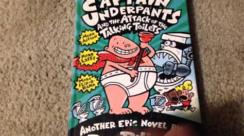 the talking part is books captain underpants and the attack of the talking toilets
