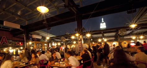 nyc top bars eataly roof baita is totally enclosed and enhanced by