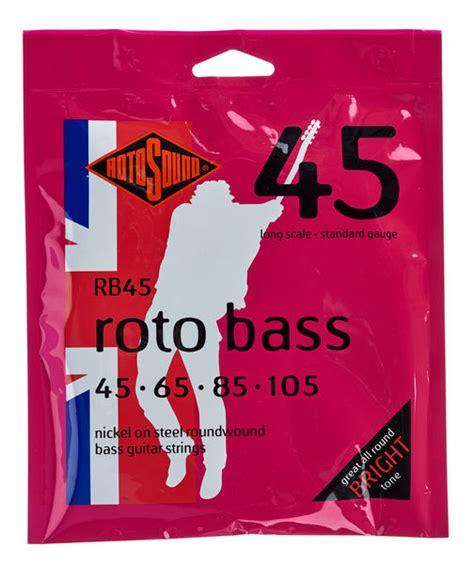 Rotosound String Bass 45105 Rs66ld rotosound rb45 roto bass thomann rom 226 nia