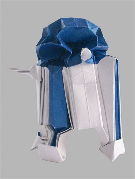 How To Make R2d2 Out Of Paper - wars origami