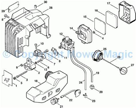 stihl fs 46 parts diagram stihl fs 46 parts diagram automotive parts diagram images