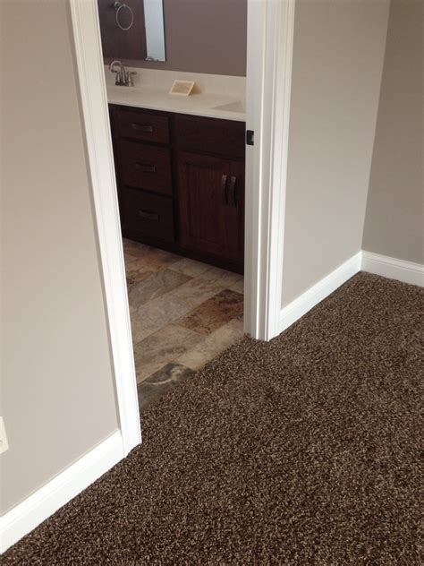 dark brown carpet bedroom like carpet looks much darker in this pic and tile