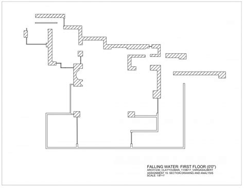 fallingwater house second floor block in architecture falling water floor plan pdf arch1230 fa17 clayyouman