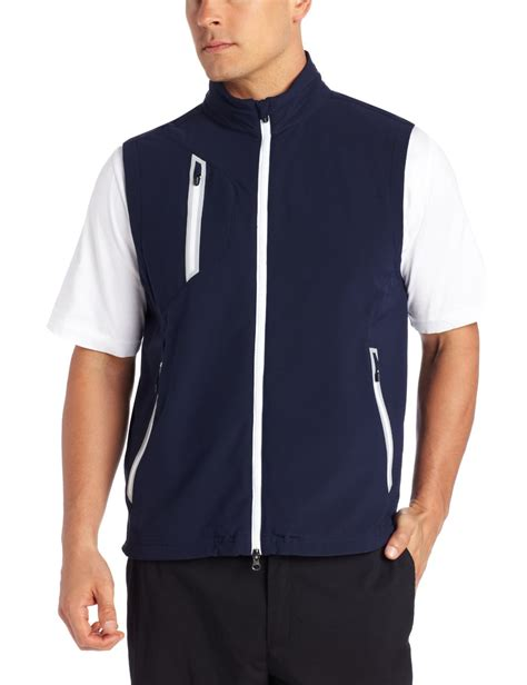 Vest Zipper Winner Is Coming Zero Clothing zero restriction mens zip golf vests