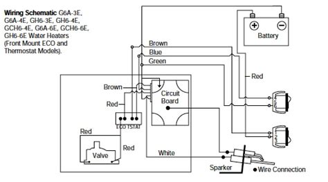 atwood water heater wiring diagram 34 wiring diagram