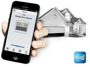 Open Garage With Cell Phone by 1000 Ideas About Chamberlain Garage Door Opener On