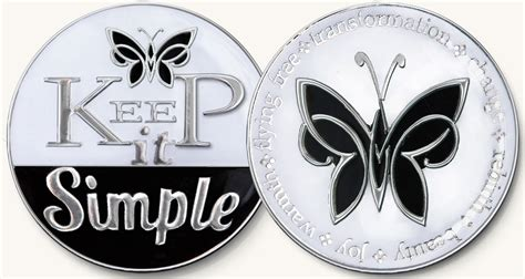 simple black white enamel medallion