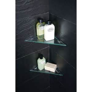 Bath With Shower Enclosure moods triangular corner shelves