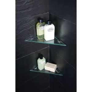 Moods triangular corner shelves