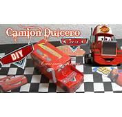 Camion Dulcero O Bolsita De Cars Con Cajas Leche Reciclado/ DIY