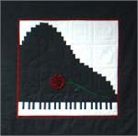 Piano Quilt Pattern by Patterns