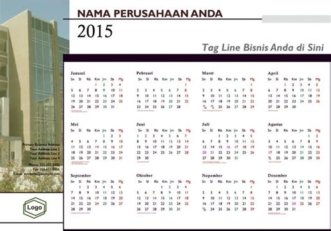 layout kalender 2015 kalender 2015 indonesia design 23 layers 9 contoh