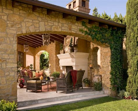 anaheim hills tuscan villa mediterranean patio other metro by brion jeannette architecture