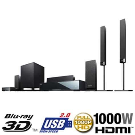 sony bdvhz970w 3d home theater system 1000 watt