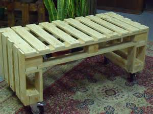 very simple project pallet bench out of 2 pallets pallet ideas 1001 pallets