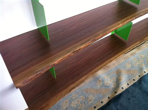 crafted live edge shelving by mann designs