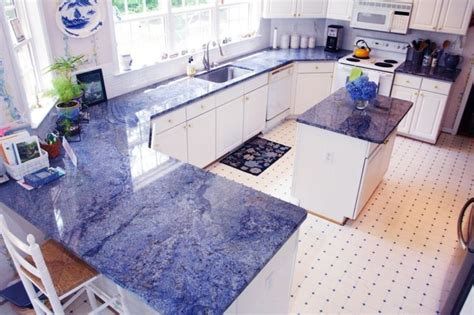 Blue Countertop Kitchen Ideas by 33 Best Blue Granite Countertops Images On