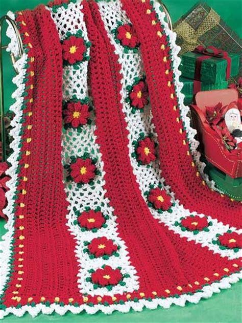 christmas afghans  crochet   patterns grandmothers pattern book