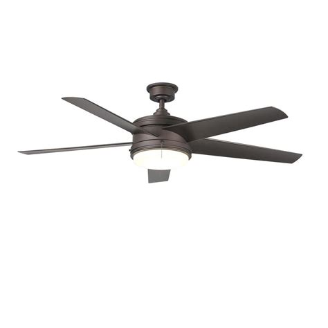 weathered grey ceiling fan home decorators collection 52 in indoor outdoor weathered