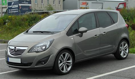 opel meriva 2010 opel meriva 1 4 related infomation specifications