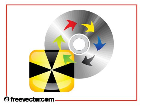 layout cd vector cd layout vector art graphics freevector com