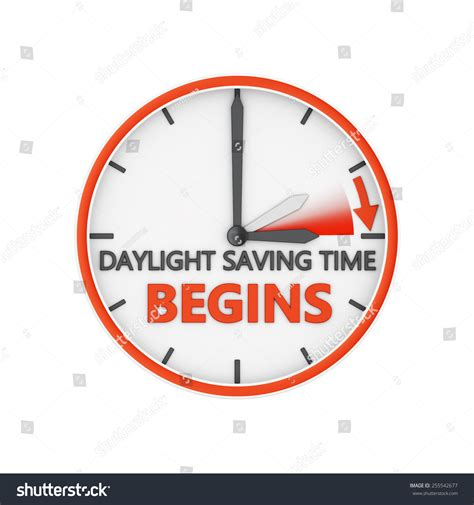 Background Check Time Period Time Change Daylight Saving Time On Stock Illustration