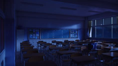 Nice Livingroom classroom night by icephei on deviantart