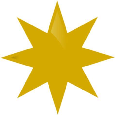 printable golden star gold star printable clipart