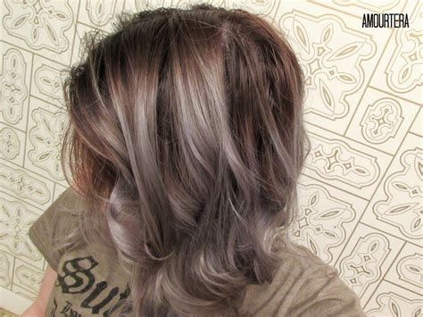 from brunett to grey how to get silver gray hair at home amourtera