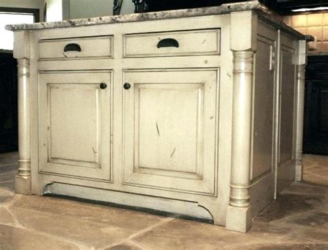 kitchen islands with posts kitchen island with post and